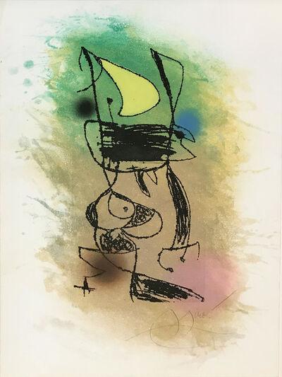 Joan Miró, 'LE GRILLON SOUS LA LUNE', 1978