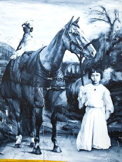 Etienne Cail, 'Child et son cheval', 2019