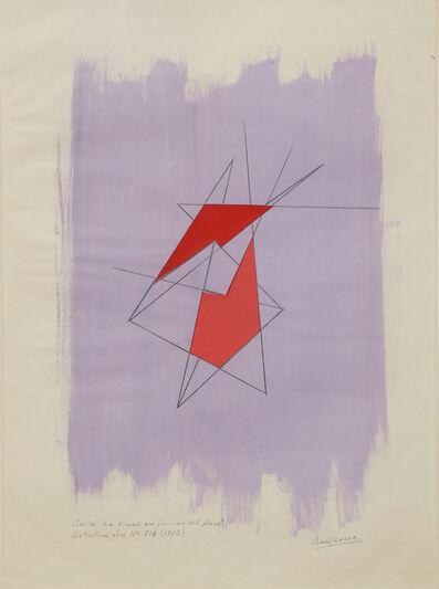 Raúl Lozza, 'Estructuraobran°716(fromserie'Lalineaenfunciondelplano')', 1972
