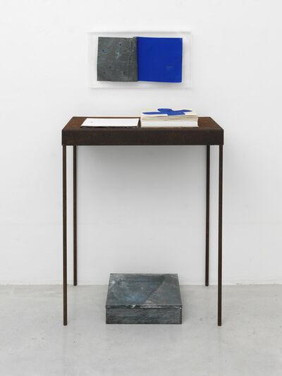 Pier Paolo Calzolari, 'Cantata bluia', 1999