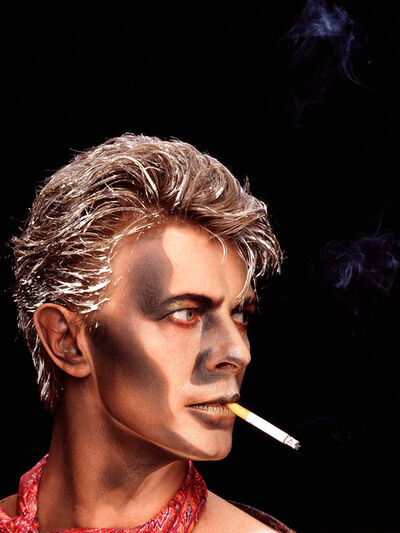 Greg Gorman, 'David Bowie Blue Jean', 1984