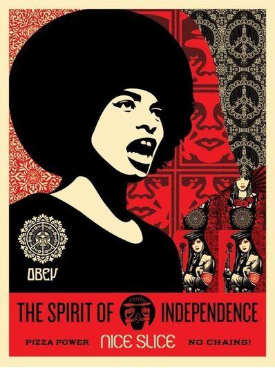 Shepard Fairey, 'Spirit of Independance', 2018