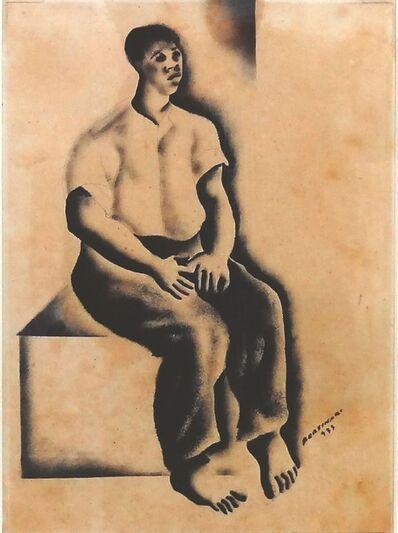 Cândido Portinari, 'Homem Sentado (Seated Man)', 1933
