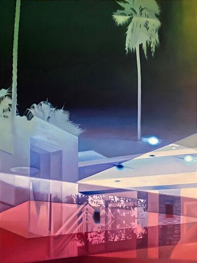 Patti Oleon, 'Night Palm', 2020