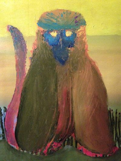 Rhys Lee, 'Gelada (bleeding heart monkey)', 2017