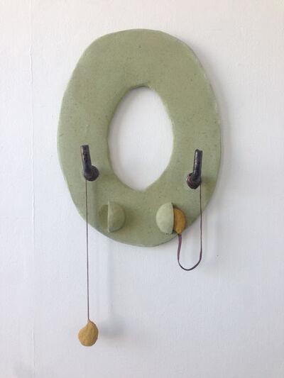 Anna Sew Hoy, 'Utopic Void (Lichen with Earbuds)', 2018