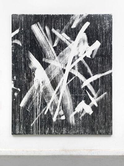 """Gregor Hildebrandt, '""""Dort wo die Linien sich verwirren""""', 2016"""