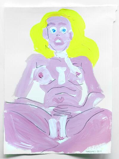 Todd James, 'Pink girl', 2013