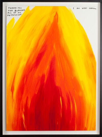 David Shrigley, 'Thank You For Burning', 2019