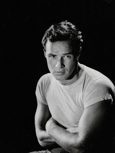 """John Engstead, 'Marlon Brando in """"A Streetcar Named Desire""""', 1951"""