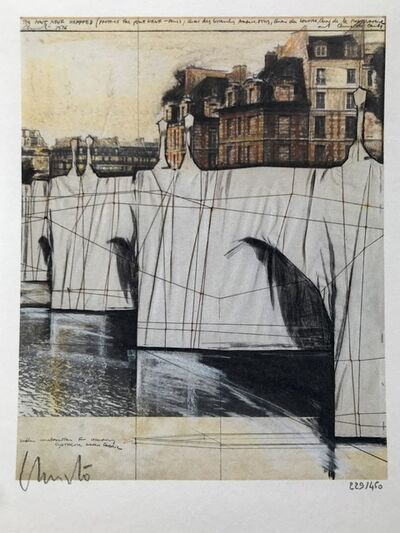 Christo and Jeanne-Claude, 'Le Pont Neuf 1985', 1995/2020
