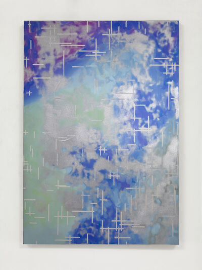 Toby Ziegler, 'Blue study after Noll', 2015