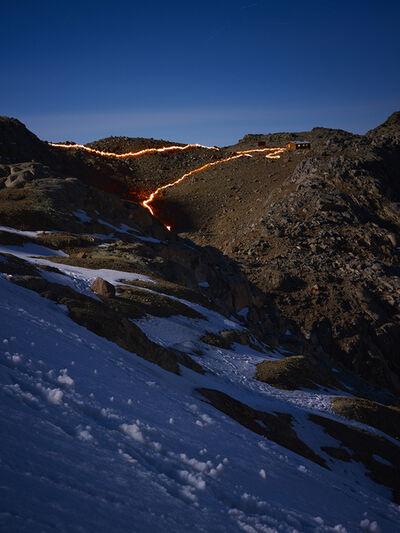 Simon Norfolk, 'The Lewis Glacier, Mt. Kenya, 1963 (B)', 2014