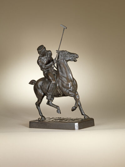 Walter Roche, 'Polo Player', ca. 1882