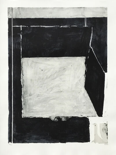 Richard Diebenkorn, 'Black and Grey', 1984