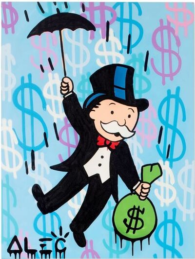 Alec Monopoly, 'Monopoly Umbrella Carry Away $ Bag ', 2020