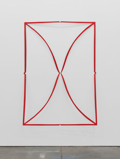Matt Keegan, 'Cutout (Flame Red)', 2019