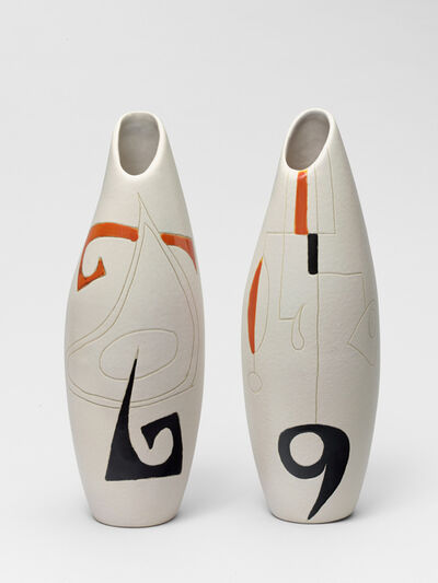 Peter Orlando, 'Two 69 Vases', 1960