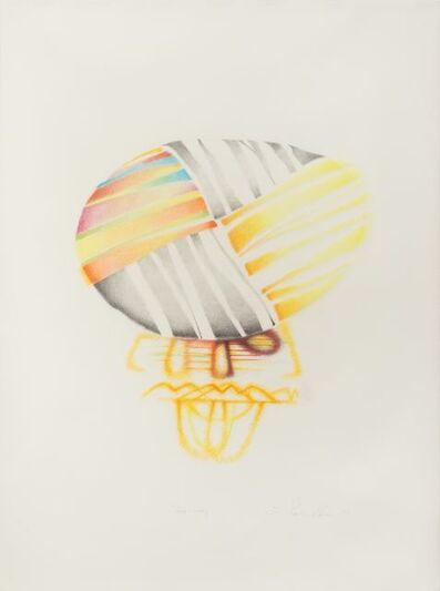 Ed Paschke, 'Hat Study', 1989