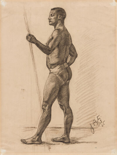 James A. Porter, 'Untitled (Male Nude)', 1925