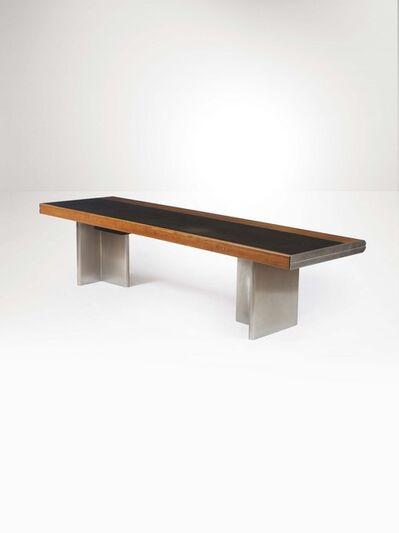 Hans Von Klier, 'A desk with a wood, steel and aluminum structure', 1970 ca.