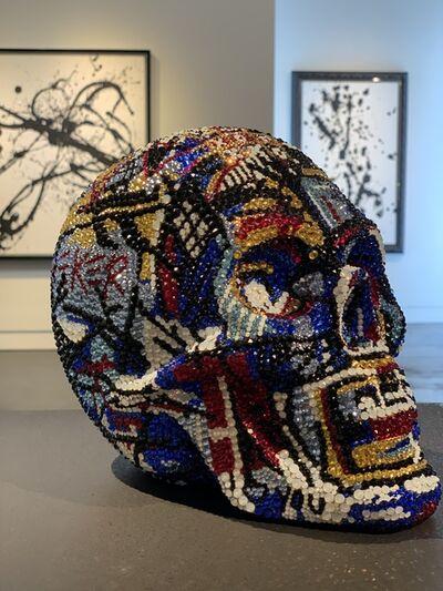 Metis Atash, 'Skull Untitled Masterpiece III feat. Basquiat (small)', ca. 2019