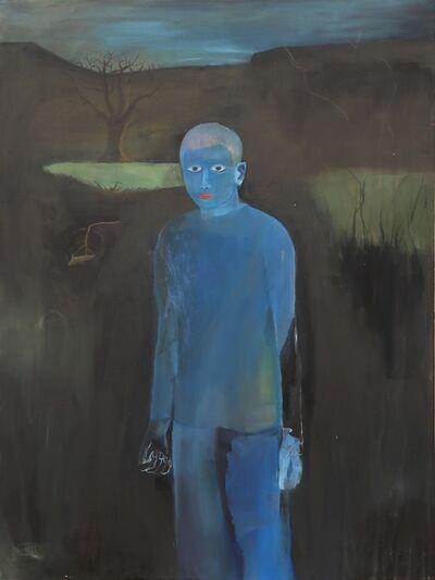 Yoav Hirsch, 'Blue Figure', 2014