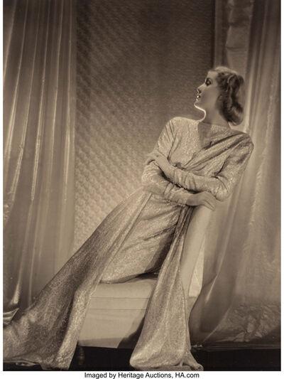 Adolf de Meyer, 'Untitled (Portrait of a Woman)'