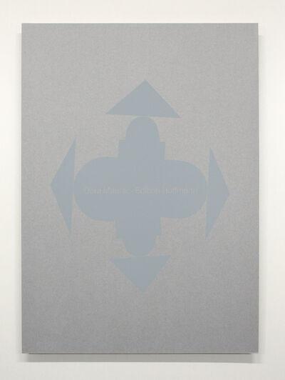 Dóra Maurer, 'raumbemalung/displacements und quasibild 72/82', 1972-1982