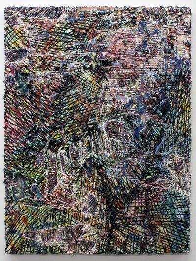Jacin Giordano, 'Cutpainting 60', 2014