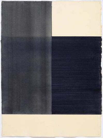 Callum Innes, 'Exposed (black)', 1997