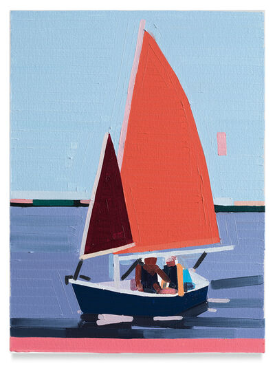 Guy Yanai, 'Sailboat', 2019