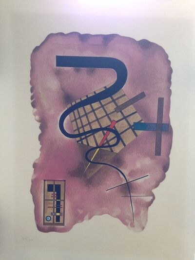 Wassily Kandinsky, 'Floating Line', 1924