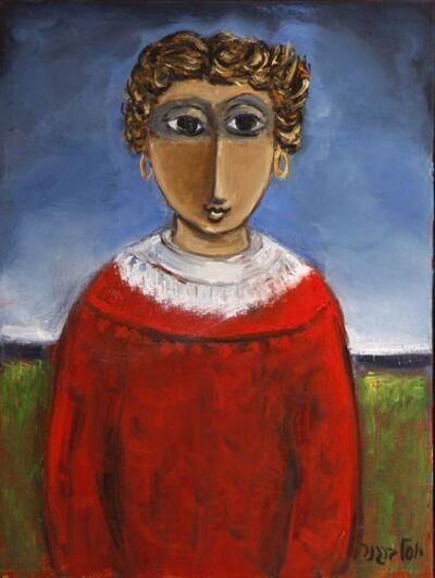 Yosl Bergner, 'Girl', ca. 1998