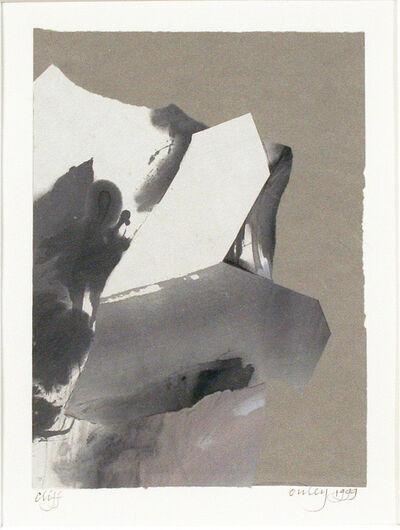 Toni Onley, 'Cliff', 1999