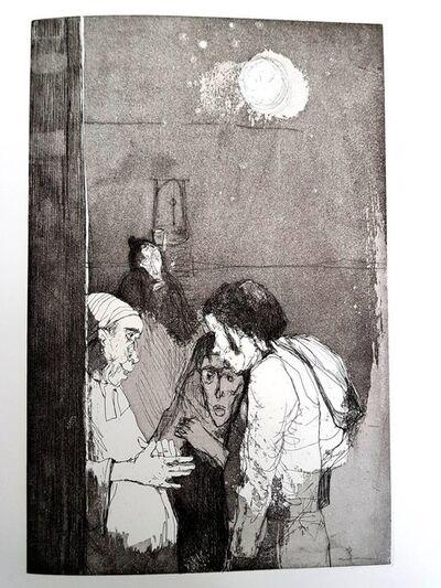 """Jean Jansem, 'Original Etching """"Loneliness III"""" by Jean Jansem', 1974"""