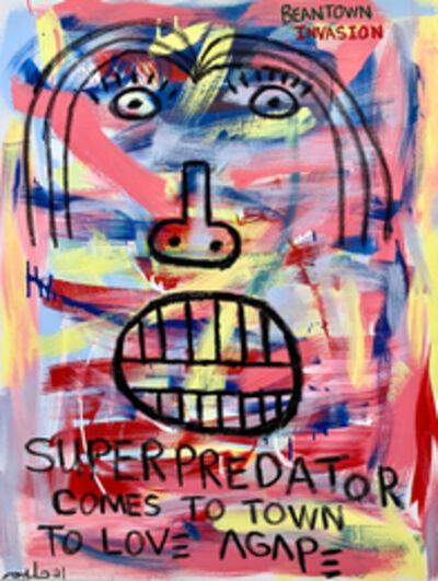 Halim Flowers, 'Superpredator Comes to Town', 2021