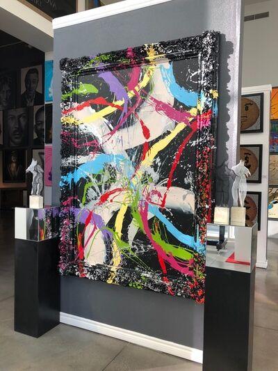 Elena Bulatova, 'Abstract Painting with the frame ', 2019