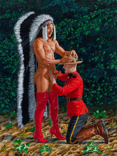 Kent Monkman, 'Nation to Subject Nation', 2021