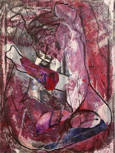 Herbert Creecy, 'Nude In Aubergine', 1993