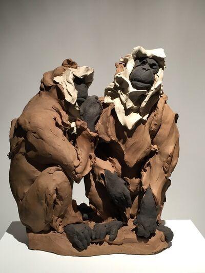Stephanie Quayle, 'Preening Macaques'