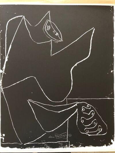 Le Corbusier, 'Par Dessus Tout ', 1962