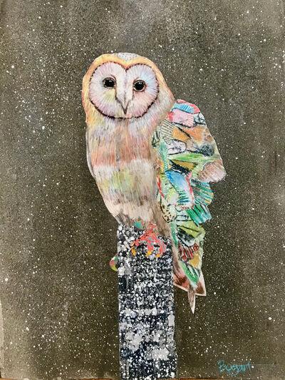 Brenda Bogart, 'Barn Owl #4', 2021