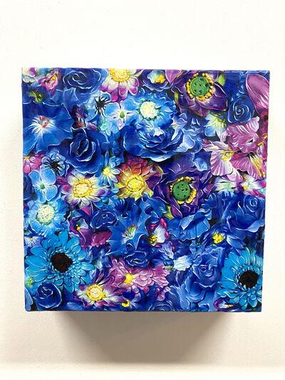 Tetsutaro Kamatani, 'PROLIFERATION- FLOWER BLUE', 2020