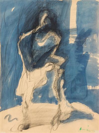 Siegfried Anzinger, 'Schritt in den Schatten', 1985