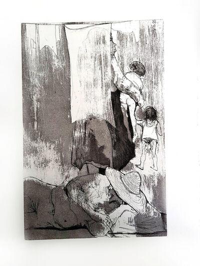 """Jean Jansem, 'Original Etching """"Loneliness"""" by Jean Jansem', 1974"""