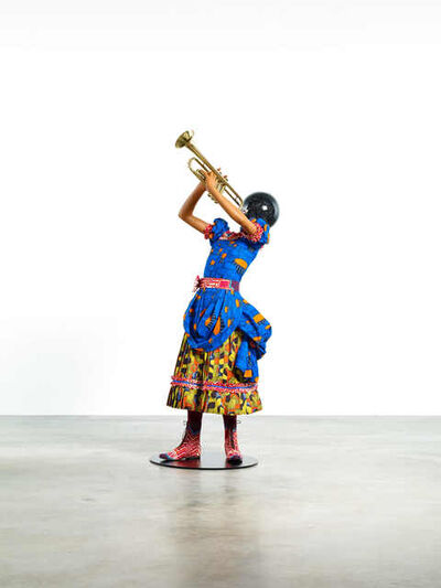 Yinka Shonibare CBE, 'Planets in My Head (Trumpet Girl)', 2018