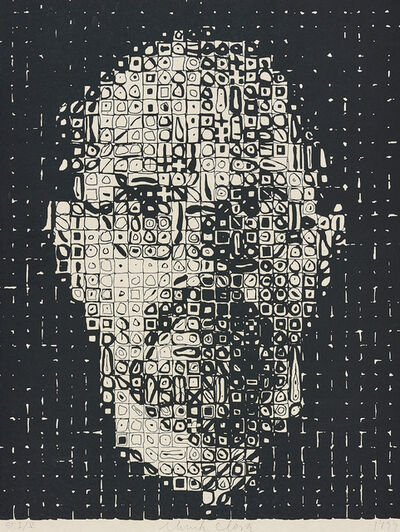 Chuck Close, 'Self Portrait', 1999