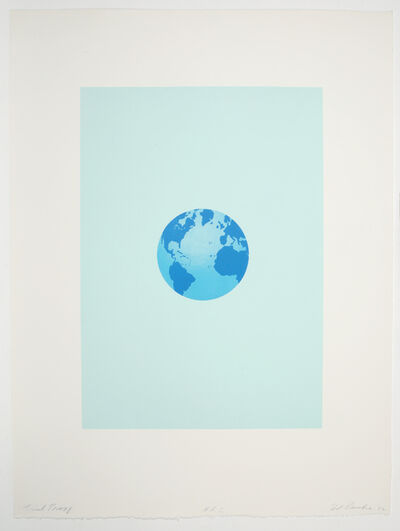 Ed Ruscha, 'The World and its Surroundings from the Global Editions Series ', 1982