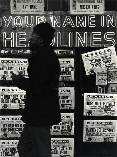 Lou Stoumen, 'Times Square', 1979